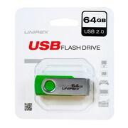 Unirex 64GB USB 2.0 Flash Drive (usfs-264)