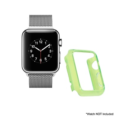 Mgear Accessories Polycarbonate Protective Cover, Green (apple-watch-cover-grn)