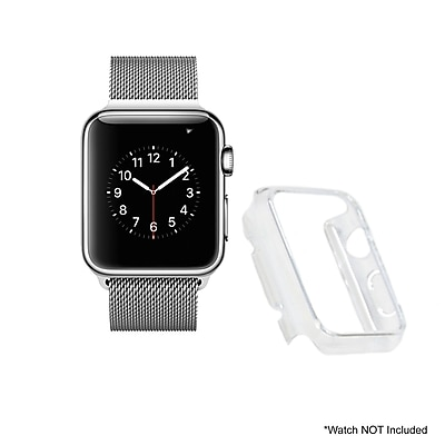 Mgear Accessories Polycarbonate Protective Cover, Clear (apple-watch-cover-clr-38)