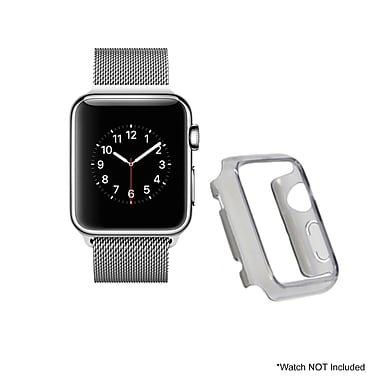 Mgear Accessories Polycarbonate Protective Cover, Gray (apple-watch-cover-gry-38)