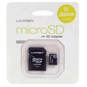 Unirex msd-322 MicroSD Card and SD Adapter