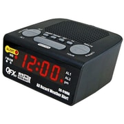 Quantum FX CR91-NOA All Hazard Weather Alert Clock Radio