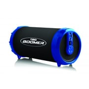 Naxa nas-3071-blu Boomer Bluetooth Portable Speaker, Blue