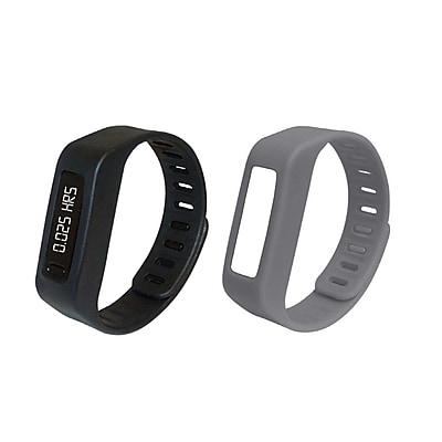 Naxa LifeForce+ Fitness Watch, Gray (nsw-13gray)