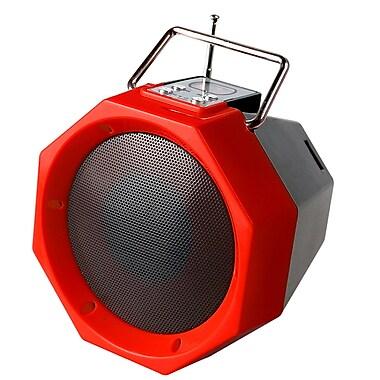 Quantum bt-26-rd Bluetooth Portable Speaker, Red