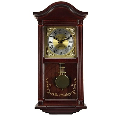Bedford Mantel Clock with Pendulum and Chime, 22