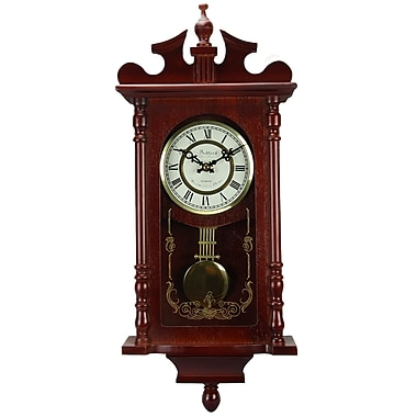 Bedford Mantel Clock with Pendulum and Chime, 25