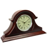 Bedford Mantel Clock with Chimes, Redwood Oak (bed-1430)