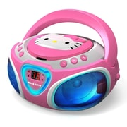 Hello Kitty kt2025 Boombox CD Player, Pink