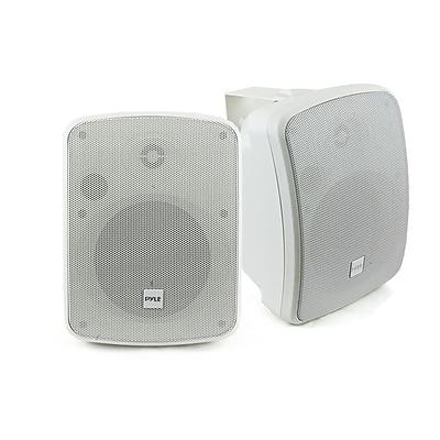 Pyle Waterproof Speaker; pdwr54btw, 800 W, White