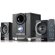Axess Mini Entertainment System, msbt3907, 10 W & 5 Wx2