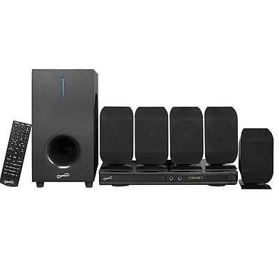 Supersonic Soundbar Digital Speaker System, sc-38ht, 25 W & 10 Wx5