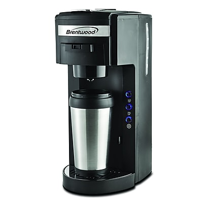 Brentwood ts-114 Single Serve Coffee Maker, 6 Cup