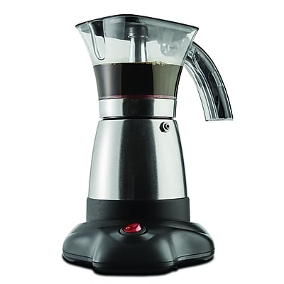 Brentwood ts-118s Moka Expresso Maker, 3 - 6 Cup