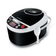 Nutrichef 6 qt Electronic Pressure Cooker; Clear (pkprc16)