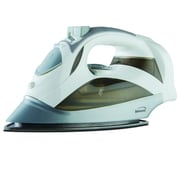 Brentwood Steam Iron with Retractable Cord , White, 6/Pack (MPI-59W)