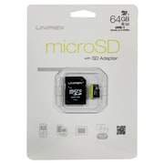 Unirex ums-645s Memory Card, Class 10 (UHS-1), 64GB, microSDHC