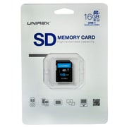 Unirex uss-165s Memory Card, Class 10 (UHS-1), 16GB, SDHC