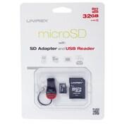 Unirex msu-322s Memory Card, Class 4, 32GB, microSD