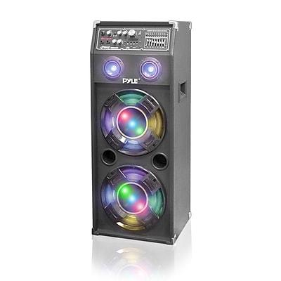 Pyle PSUFM1245A PA Speaker System, 1400 W, Black