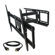 MegaMounts TV Mount with HDMI Cable, 100 lbs. (gmw663-hdmi-bndl)