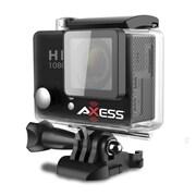 Axess CS3604-BK 12 MP Action Camera, 2.65 mm, Black