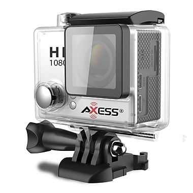 Axess CS3604-SL 12 MP Action Camera, 2.65 mm, Silver
