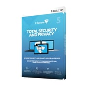 F-Secure Internet Security & Privacy VPN, 5-Device, 1 Year Subscription