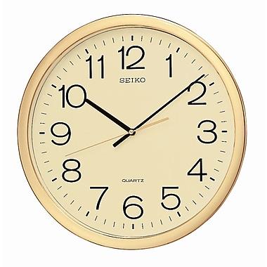 Seiko – Horloge murale dorée (QXA041A)