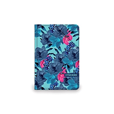 Tucano IPD7ANF-B Angolo Folio, iPad Air 2, Flower Blue