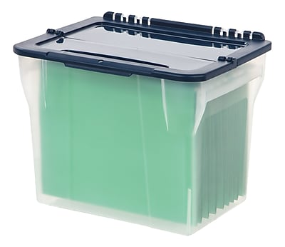 Staples® File Box with Hinged Lid (139884)