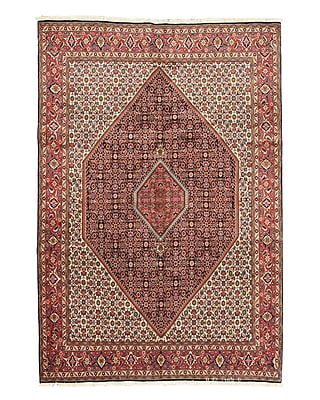 Eastern Rugs Bidjar Navy Hand-Knotted Area Rug