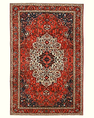 Eastern Rugs Bakhtiar Rust Hand-Knotted Area Rug