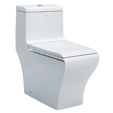 EAGO Dual Flush One-Piece Toilet