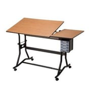 Alvin and Co. Craftmaster III Split Melamine Drafting Table by