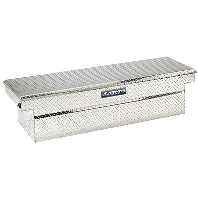 Lund Inc. Cross Bed Truck Tool Box; Silver