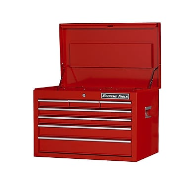 Extreme Tools 26''W 7-Drawer Top Chest; Red