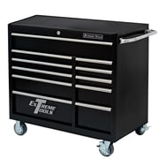 Extreme Tools 41''W 11-Drawer Tool Chest; Textured Black