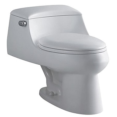 Elements of Design Congress 1.6 GPF Elongated One-Piece Toilet