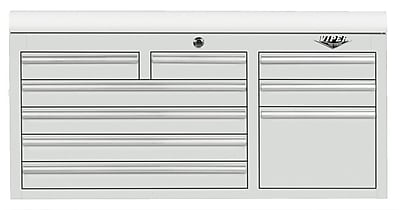 Viper Tool Storage 41''W 9-Drawer Top Chest; White