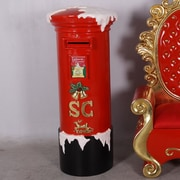 Queens of Christmas Polyresin Mail Box Christmas Decoration