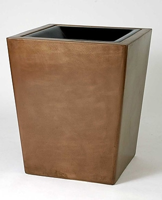Allied Molded Products St. Louis Hide-A-Butt Receptacle 30 Gallon Waste Basket; Anastasia Emerald