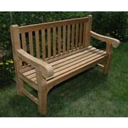 Regal Teak Teak Hyde Garden Bench; 72''