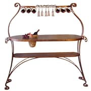 Metrotex Designs Bird of Paradise Bar w/ Wine Storage