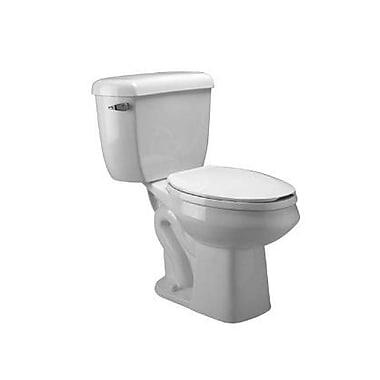 Zurn Pressure Assist Dual Flush Round Two-Piece Toilet