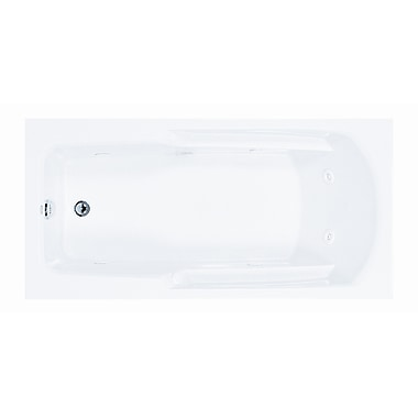 Reliance Whirlpools Reliance 60'' x 36'' Whirlpool Bathtub; Biscuit