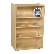 Wood Designs Shelving Unit w/ Casters