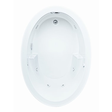Reliance Whirlpools Reliance 60'' x 42'' Whirlpool Bathtub; Biscuit