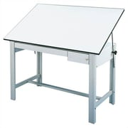 Alvin and Co. DesignMaster Melamine Drafting Table; Gray by
