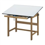 Alvin and Co. Titan Melamine Drafting Table w/ Drawer; 37.5 '' x 60 ''